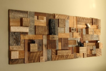 DIY wood wall project ideas