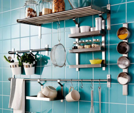 Inexpensive kitchen storage solutions