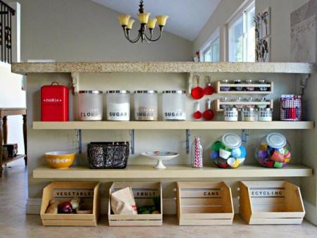 Kitchen storage solutions for small kitchens