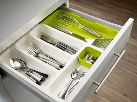Modern storage solutions for kitchens