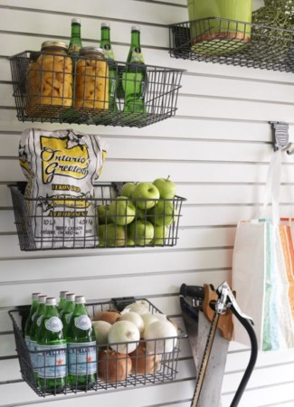 Storage solutions for organized kitchen