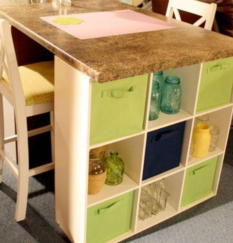 Kitchen decor for Cool kitchen storage ideas