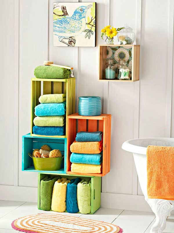Clever diy storage ideas for creative home organization Bathroom organizing ideas