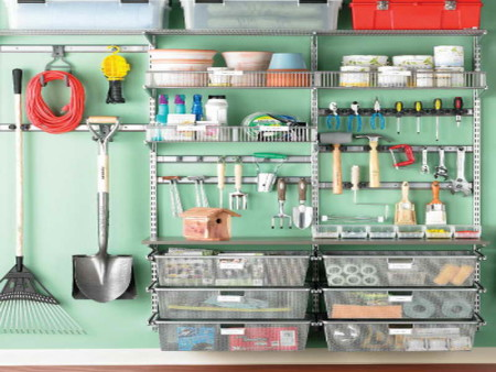 Clever garage organizing ideas