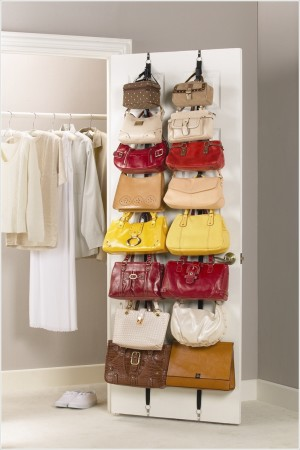 DIY Bag storage ideas