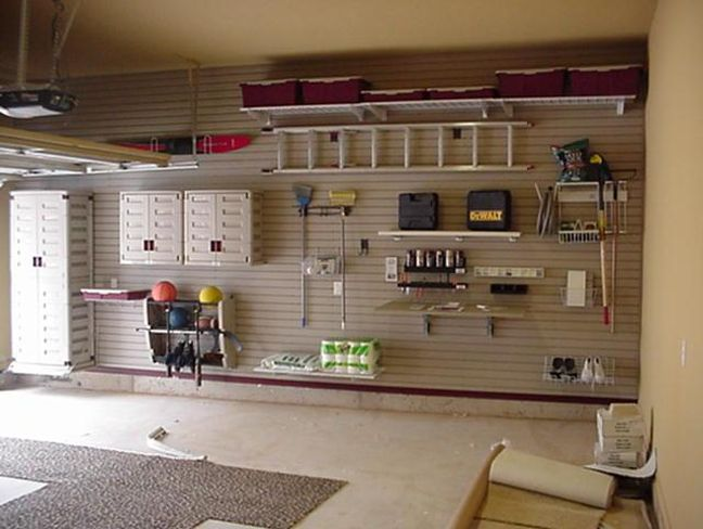 Clever diy storage ideas for creative home organization for Garage designs pictures