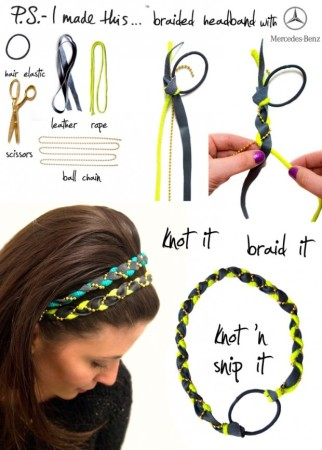DIY hairband for girls
