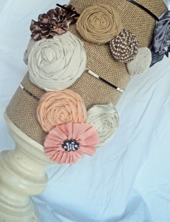 DIY headband holder tutorials