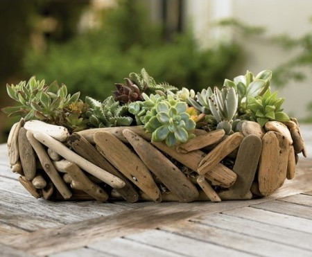 Rustic DIY garden ideas