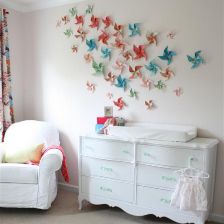 Wall decor crafts for girls