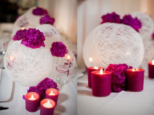 Easy diy wedding decorations on low budget for Decoration de table pas cher