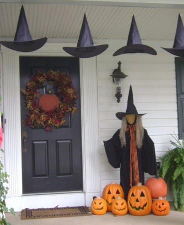 Beautiful Halloween decorating Ideas for Outdoor
