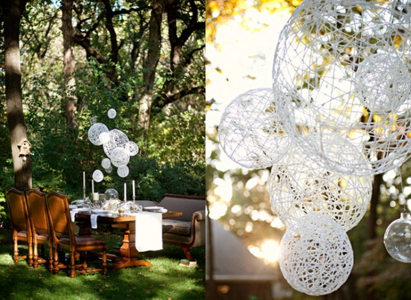 Easy diy wedding decorations on low budget for Home wedding reception decorations
