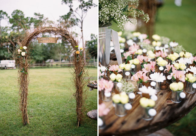 Cheap Vintage Wedding Entrance Ideas