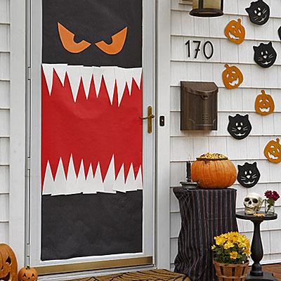 Creepy Halloween Door Designs 2015