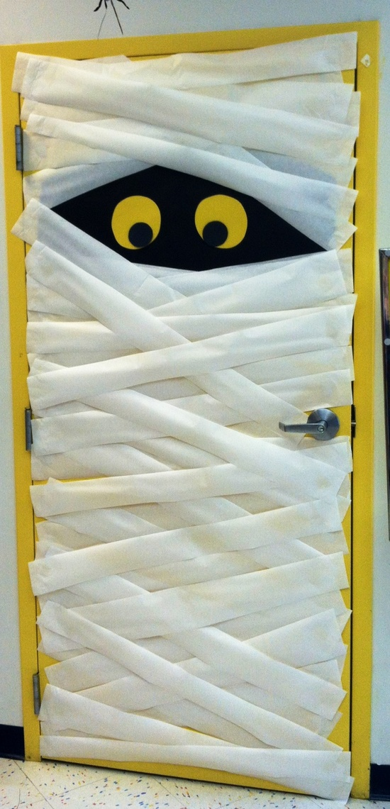 Decorating Ideas > Spooky Halloween Decoration Ideas And Crafts 2015 ~ 153254_Halloween Door Ideas School