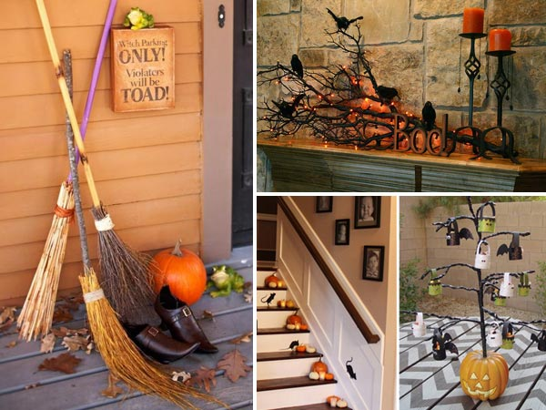 Spooky halloween decoration ideas and crafts 2015 for Idee deco halloween