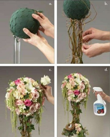DIY Vintage wedding centerpieces tutorials