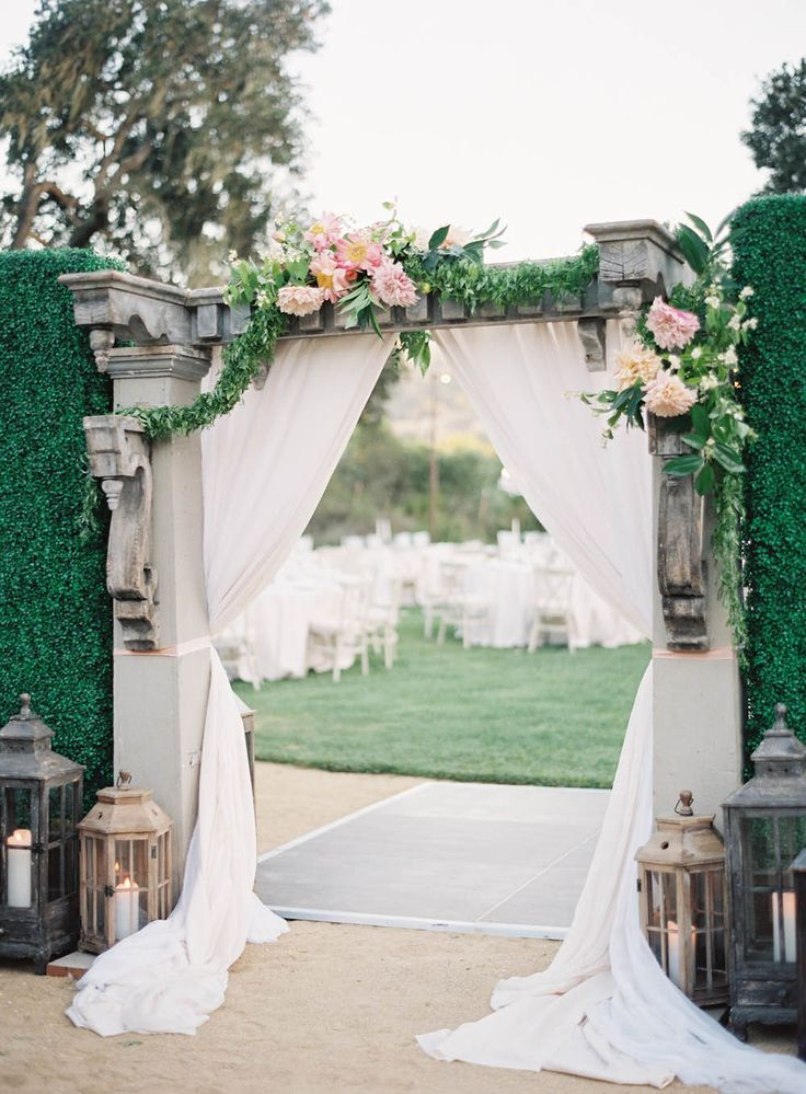 DIY Vintage Wedding Gateway Ideas