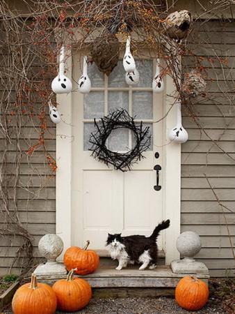 Halloween Front Door Decorating Ideas
