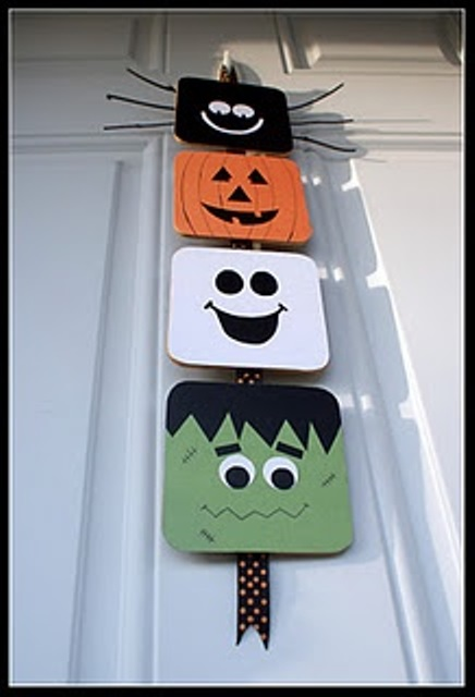 Spooky halloween decoration ideas and crafts 2015 for Easy diy halloween decorations
