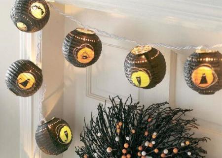 Hanging Halloween Lanterns and Designs 2015