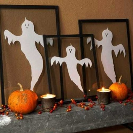 Scary diy halloween decorations and crafts ideas 2015 How to make easy halloween decorations at home