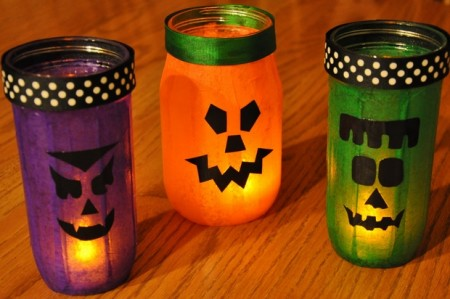 Recycled DIY Halloween Decorations