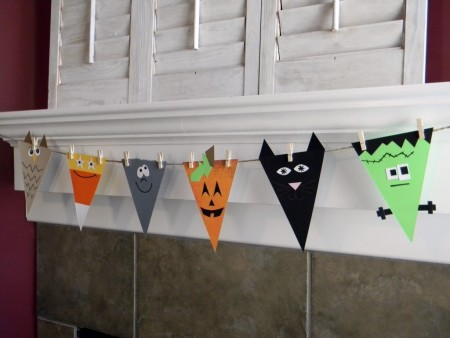 Scary DIY Halloween Garland Ideas for parties