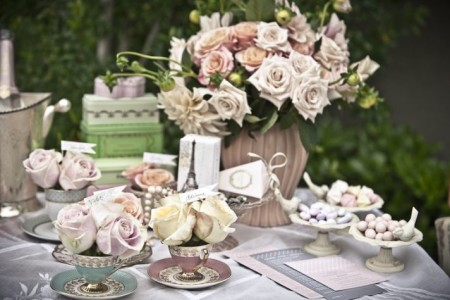 Vinatge wedding ideas for summer and spring