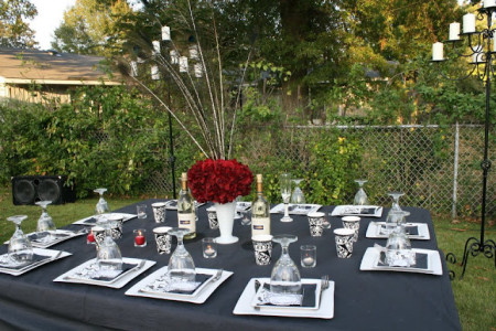 Vinatge wedding table decor ideas