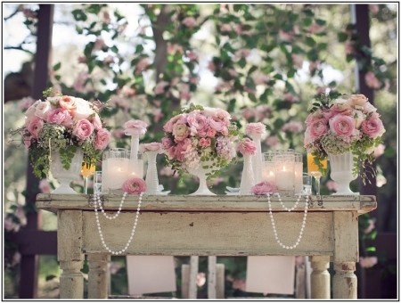 Vintage wedding decor ideas for spring