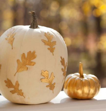 Do it yourself halloween decorations and projects 2015 for How to decorate a pumpkin for thanksgiving