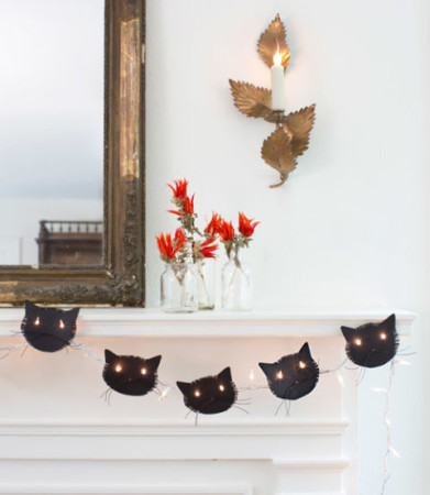 DIY Halloween Fireplace Ideas