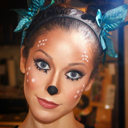 Animal inspired Halloween makeup Ideas