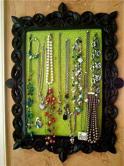 Creative DIY Jewelry Organizer Ideas and Projects