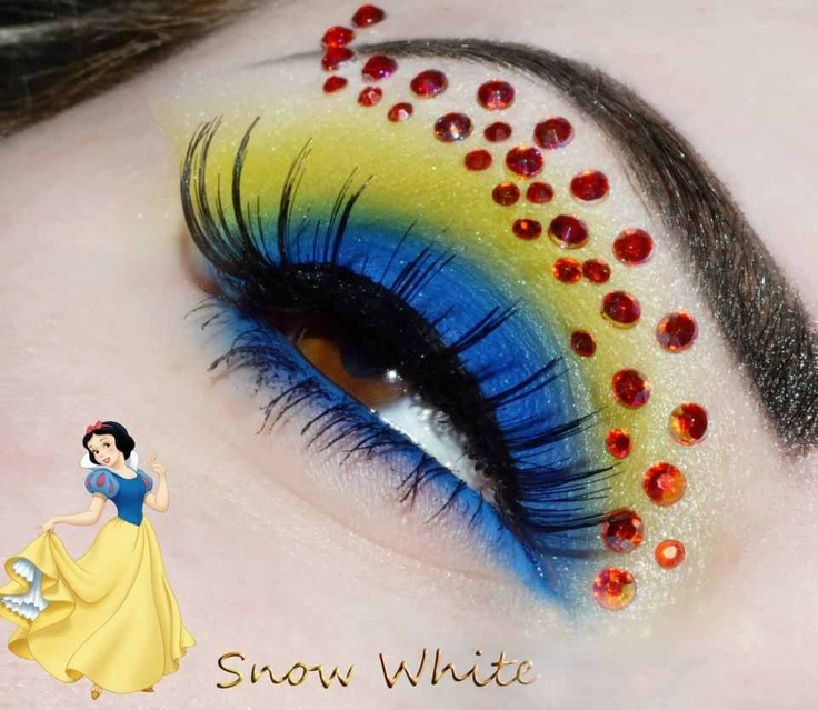 DIY Disney Halloween makeup ideas
