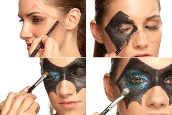 DIY Halloween face painting tutorials