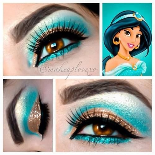 Disney Halloween makeup tutorials