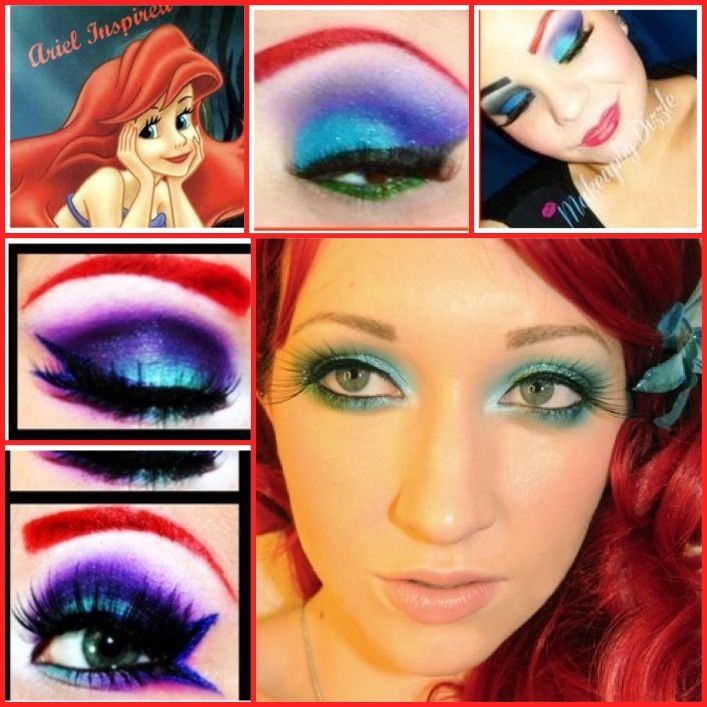 DIY Disney Inspired Halloween Makeup Ideas for Girls