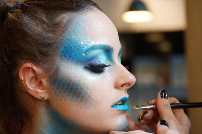 Fish Halloween makeup designs 2015