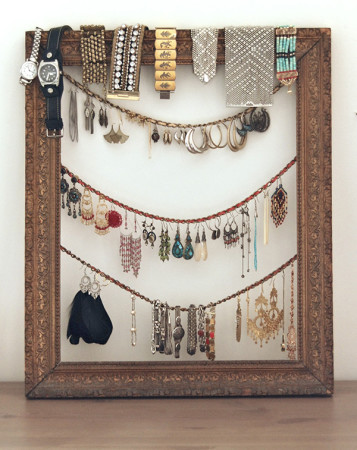 Unique DIY Jewelry Organizers