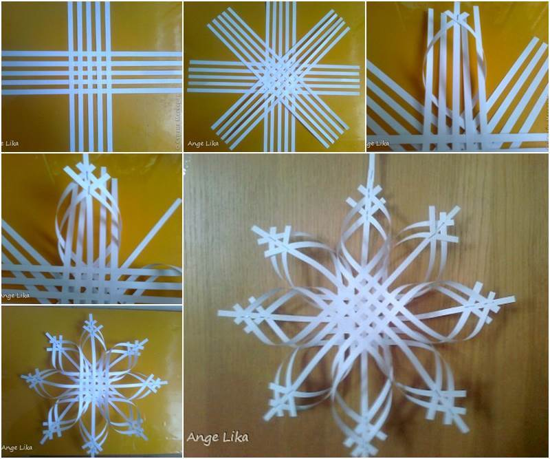 Christmas Decorations Diy With Paper : Inexpensive diy christmas ornaments to make at home