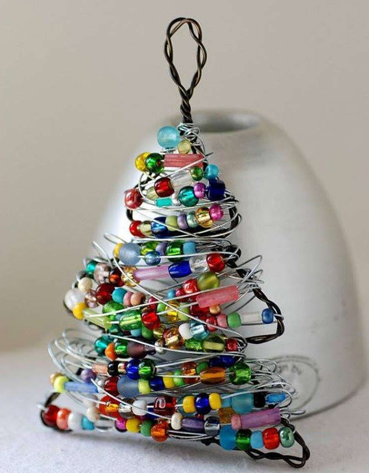 Inexpensive diy christmas ornaments to make at home Diy christmas tree decorations