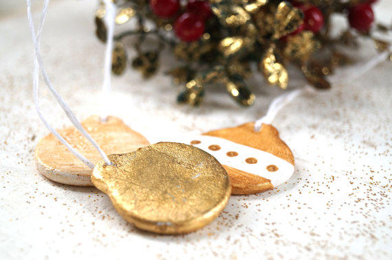 Handmade Christmas decorations and ornaments