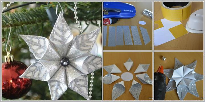 Homemade DIY Christmas ornaments ideas