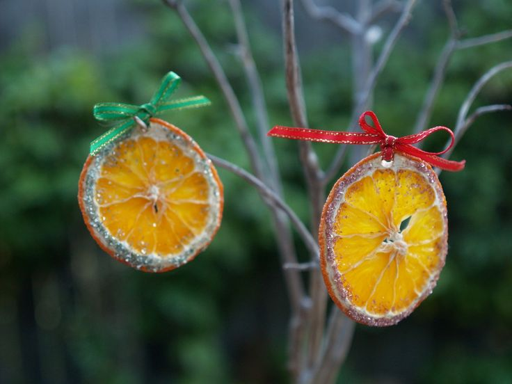 Rustic DIY Christmas ornaments
