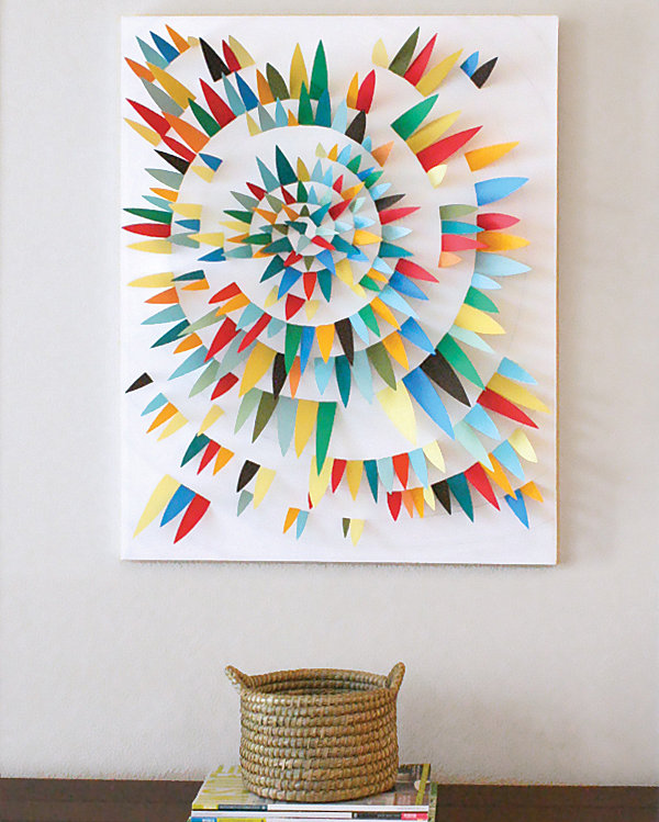 Diy cheap wall decor ideas 2016 Simple wall art