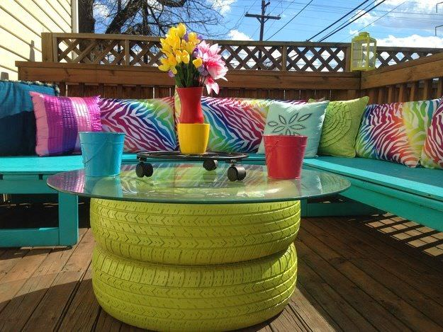 Recycled DIY furniture projects