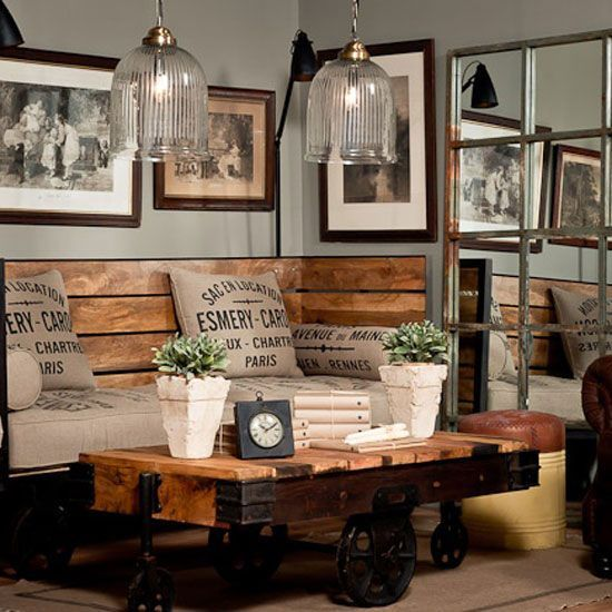 Basement decorating ideas with modern and rustic themes for Home decorating rustic ideas